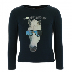 T-shirt manches longues Equi-Kids Pony Rider