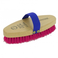 """Brosse douce Hippo-Tonic """"Keep calm and clean"""""""