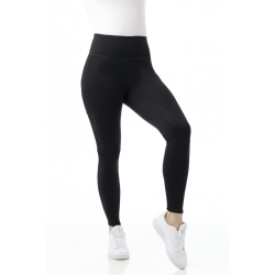 Pantalon EQUITHÈME Pull-on Lyly fond silicone - femme