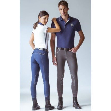 Polo Equit'M fin - Femme