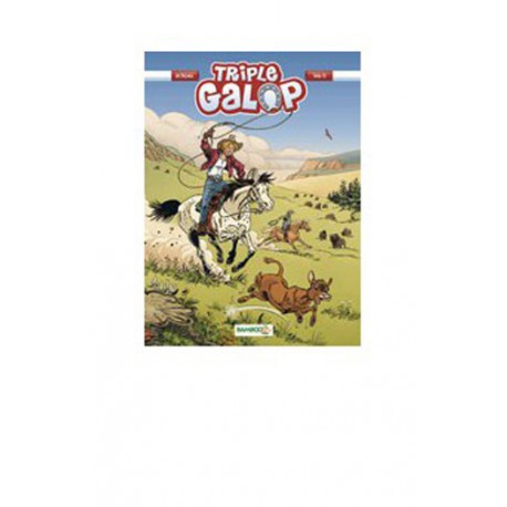 Tome 10 BD Triple Galop